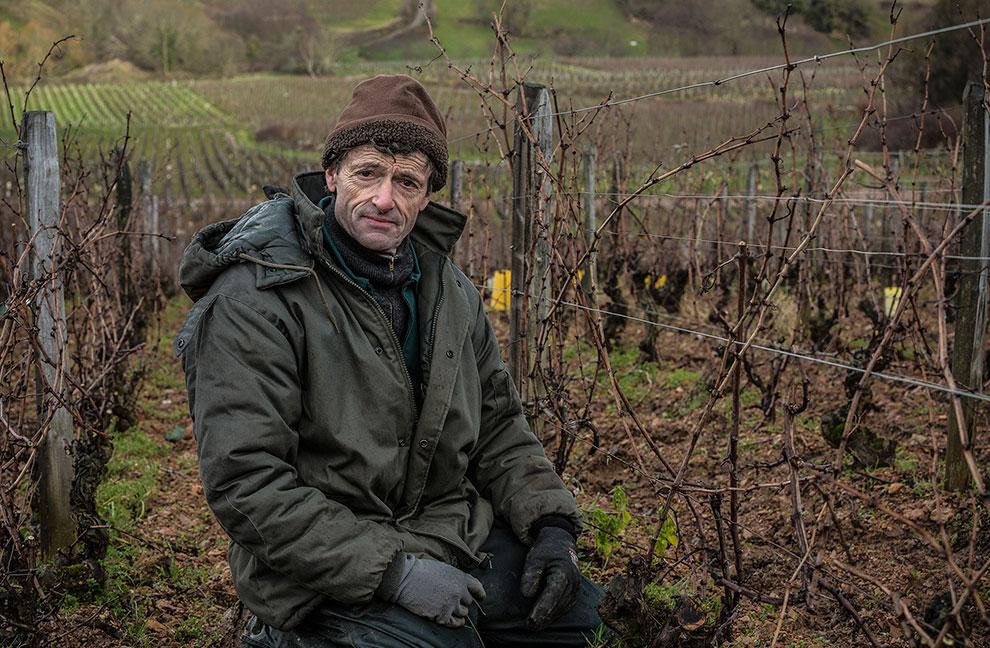 Roger Saumaize - Domaine Saumaize-Michelin - Vergisson - Bourgogne