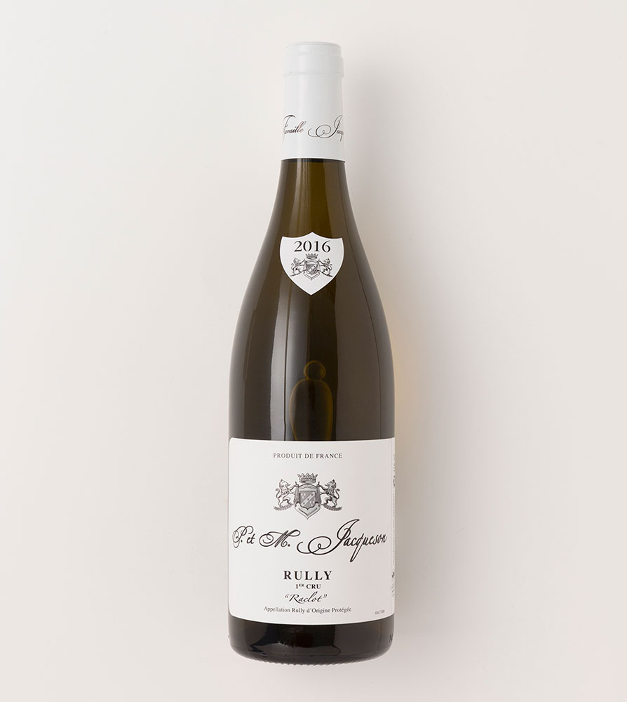 DOMAINE PAUL ET MARIE JACQUESON - RULLY 1ER CRU RACLOT 2016