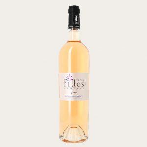 Côtes de Provence rosé 2018 - Domaine des Tris Filles