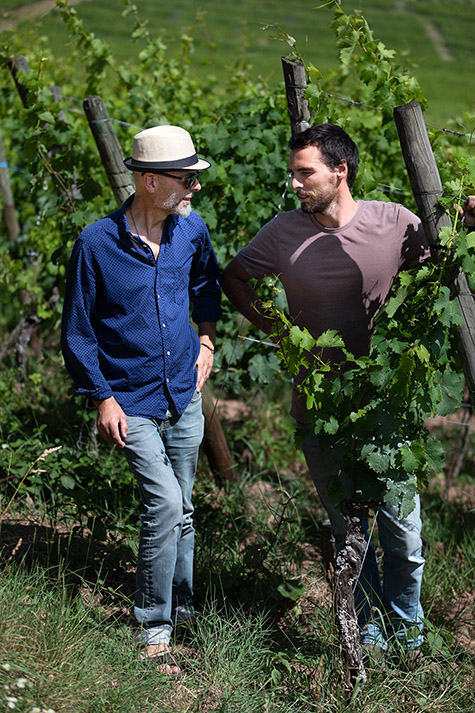 Arthur et André Ostertag dans le Muenchberg