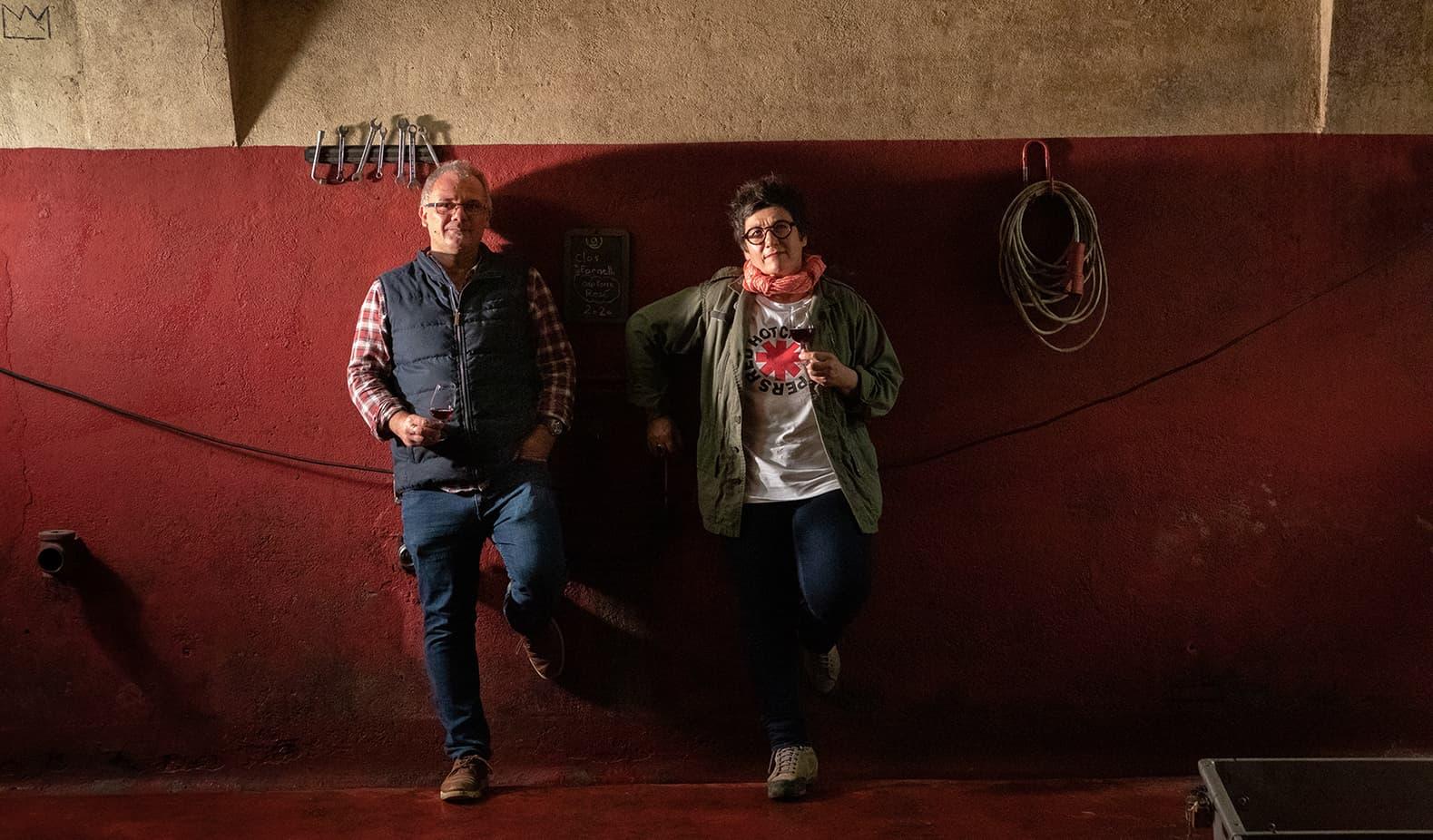 Clos Fornelli - Josée Vanucci et Fabrice Couloumere