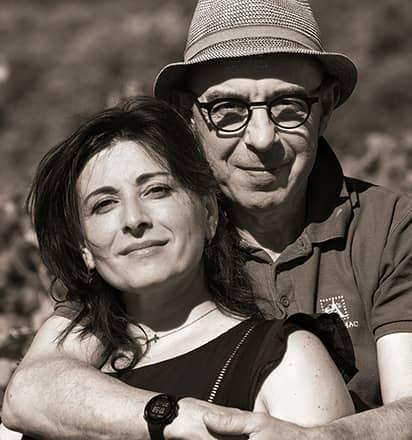 Désirée et Sylvain Fadat - Domaine d'Aupilhac